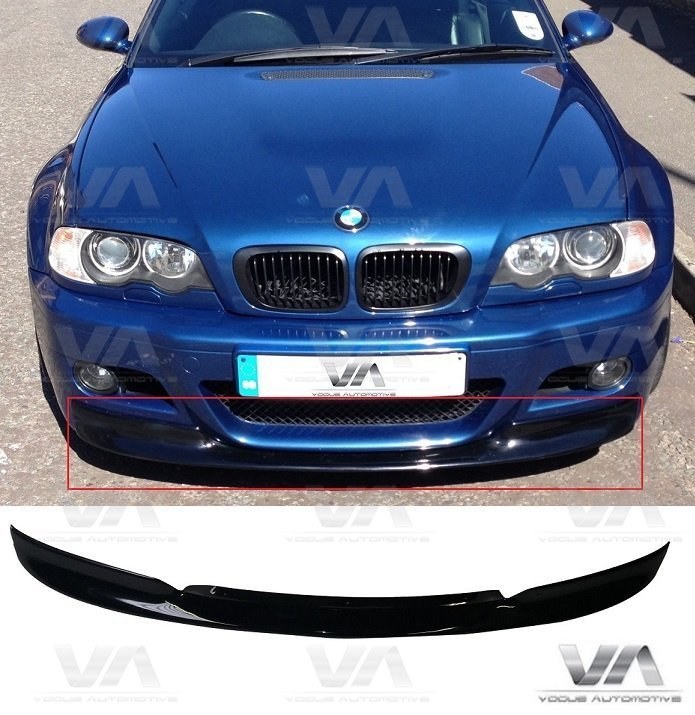 BMW 3 Series E46 M3 CSL Front Splitter