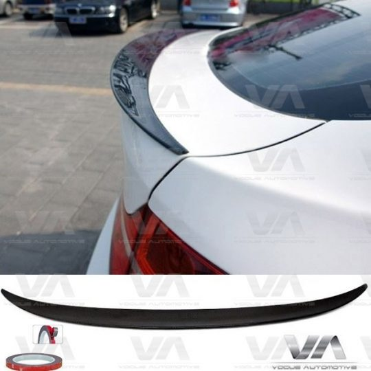 BMW X SERIES E71 X6 PERFORMANCE CARBON FIBER BOOT SPOILER