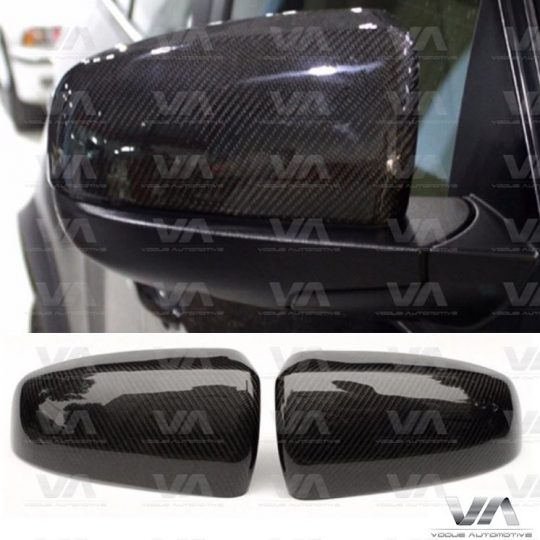 BMW X SERIES E70 E71 X5 X6 DIRECT REPLACEMENT CARBON FIBER MIRROR COVERS