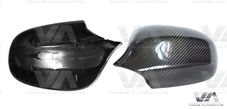 BMW 3 Series E90 E91 LCI Replacement CARBON FIBER Mirror Covers