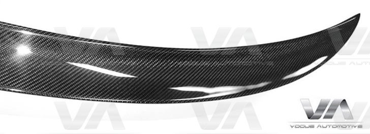 BMW 3 Series E90 M3 PERFORMANCE Style CARBON FIBER Boot Spoiler