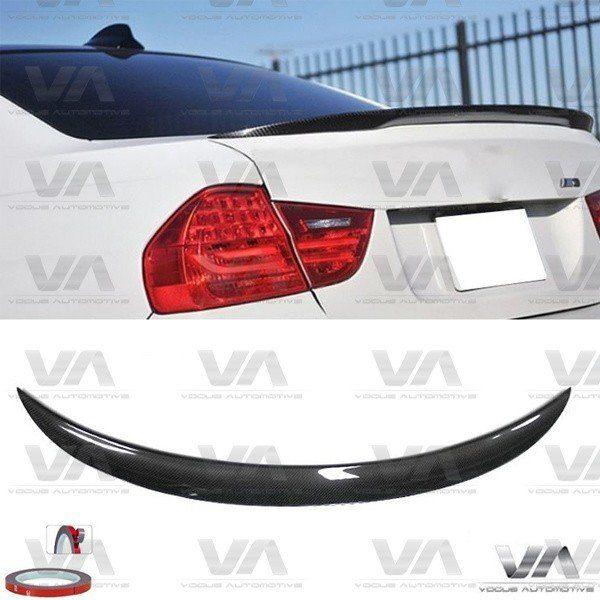 BMW 3 Series E90 M3 PERFORMANCE Style CARBON FIBER Boot Spoiler