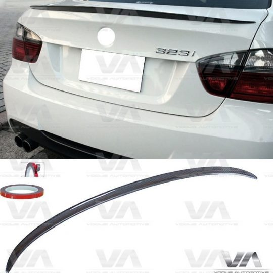 BMW 3 Series E90 CARBON FIBER M3 Style Boot Spoiler