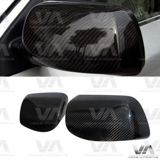 BMW 5 6 Series E60 E61 E63 E64 CARBON FIBER Replacement Mirror Covers