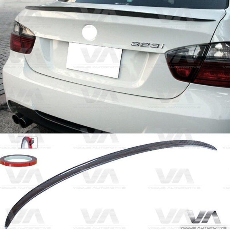 BMW 3 Series E90 CARBON FIBER M3 Style Boot Spoiler