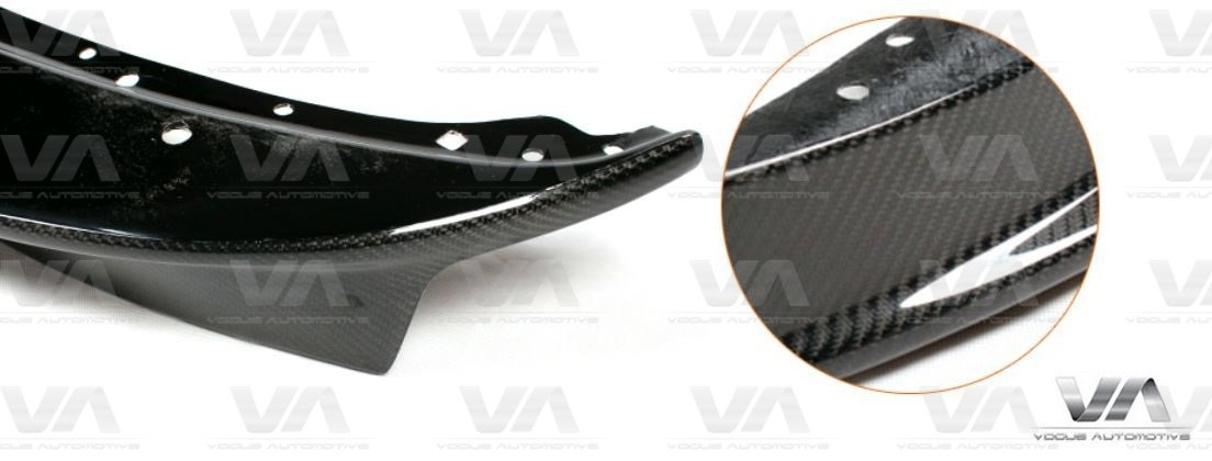 BMW 3 Series E90 E91 AK Style LCI CARBON FIBER Front Splitter