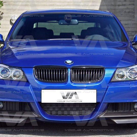 BMW 3 SERIES E90 E91 PRE LCI M SPORT CORNER SPLITTERS FRP