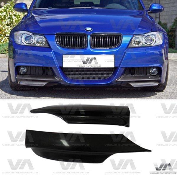BMW 3 Series E90 E91 LCI M Sport Front Corner Splitters