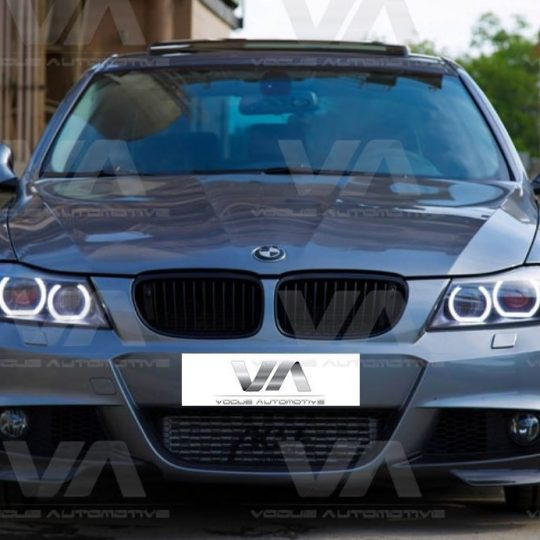 BMW 3 SERIES E90 E91 LCI M SPORT CORNER SPLITTERS FRP