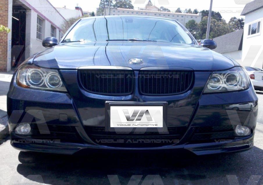BMW 3 Series E90 E91 PRE LCI SE Front Corner Splitters