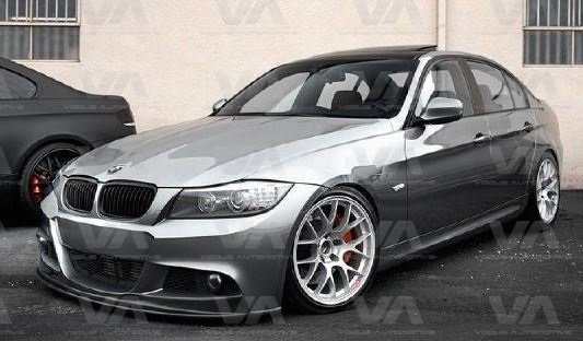 BMW 3 Series E90 E91 LCI AK Style Front Splitter