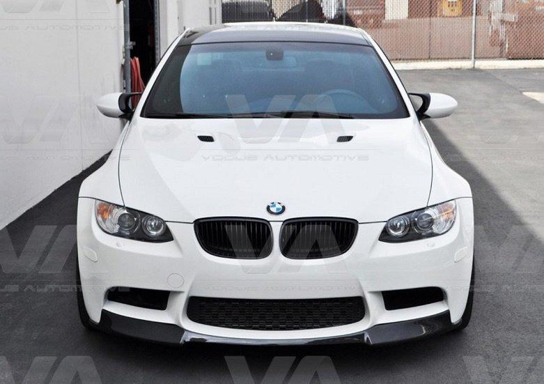BMW 3 Series E92 E93 V Style CARBON FIBER Front Splitter