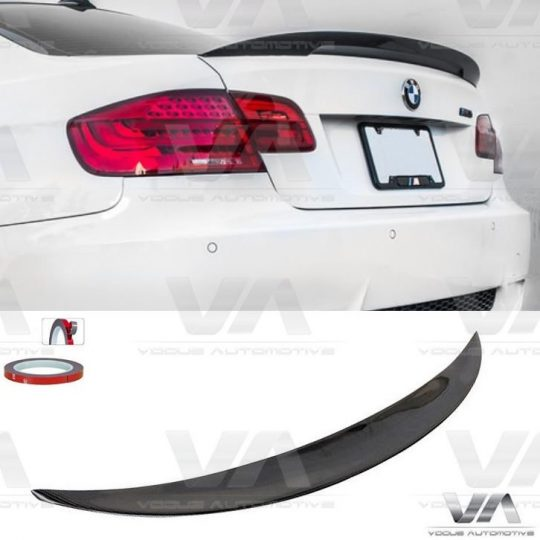 BMW 3 Series E92 PERFORMANCE Style CARBON FIBER Boot Spoiler