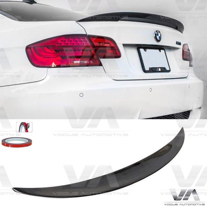 BMW 3 Series E92 PERFORMANCE Style CARBON FIBER Boot Spoiler