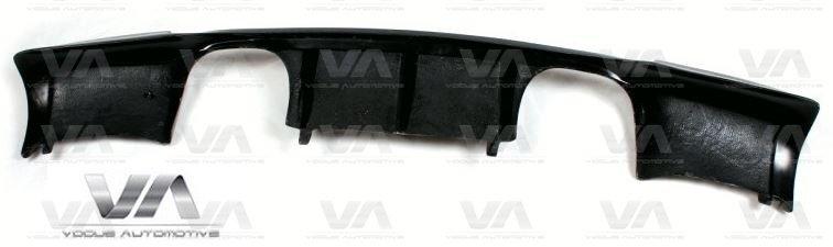 BMW 3 Series E92 E93 M3 V Style CARBON FIBER Rear Diffuser