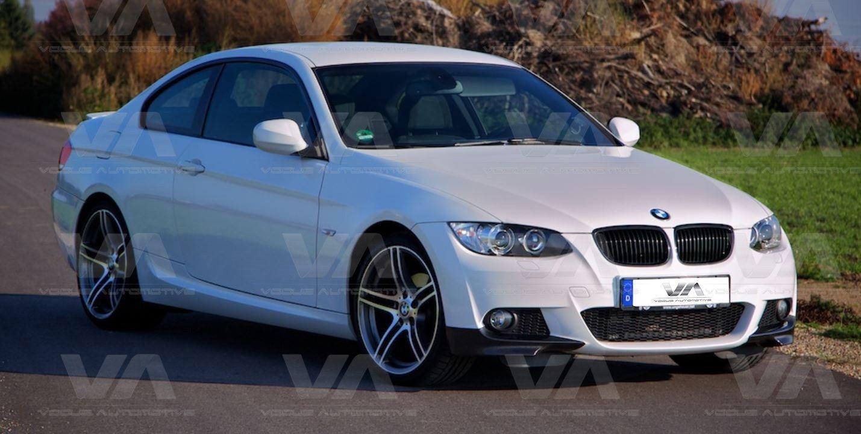 BMW 3 Series E92 E93 PRE LCI M Sport Front Corner Splitters