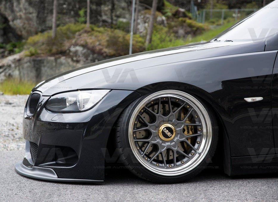 BMW 3 Series E92 E93 PRE LCI AK Style Front Splitter