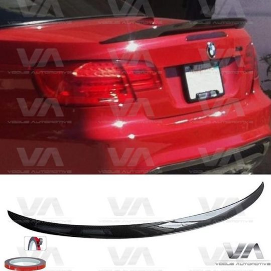 BMW 3 SERIES E93 PERFORMANCE STYLE CARBON FIBER BOOT SPOILER
