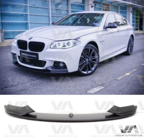 BMW 5 SERIES F10 F11 ABS PERFORMANCE STYLE FRONT BUMPER LIP