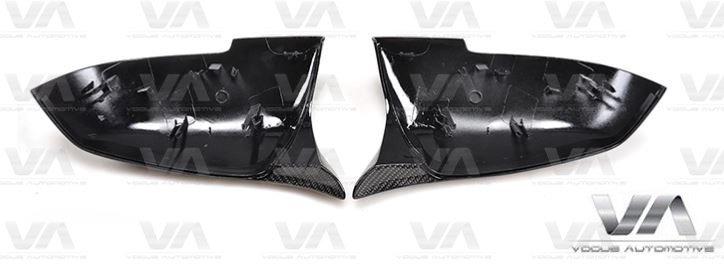 BMW F20 F21 F30 F31 F32 F33 M4 Replacement CARBON FIBER Mirror Covers