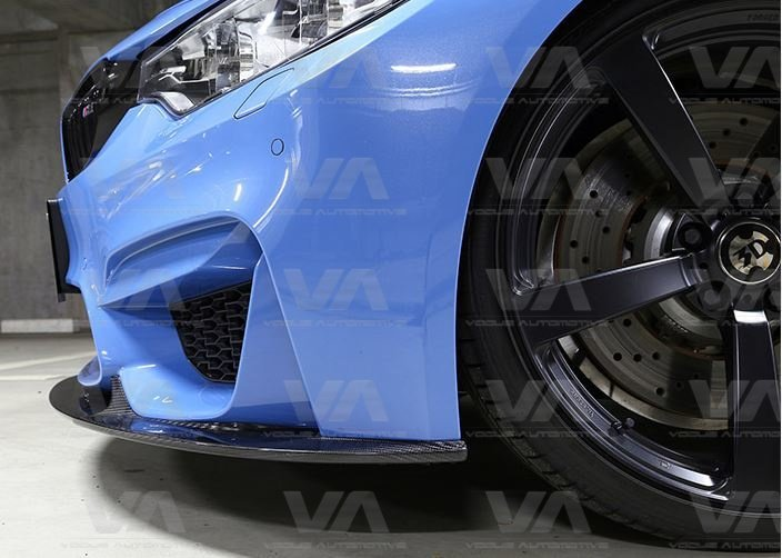 BMW M3 M4 F80 F82 F83 3D Style CARBON FIBER Front Splitter