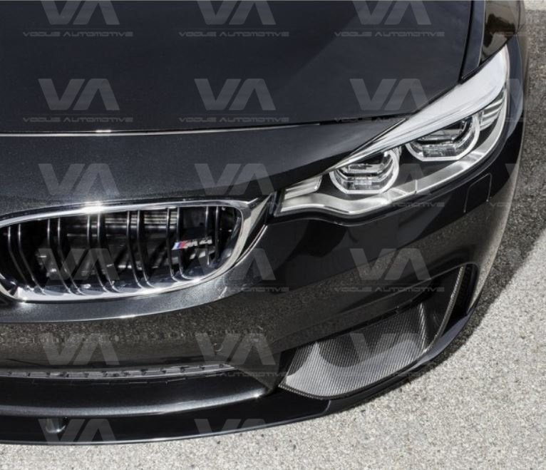 BMW M3 M4 F80 F82 F83 CARBON FIBER Front Corner Canards