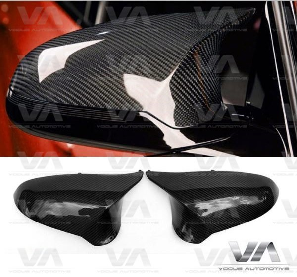 9c6793356b9d BMW 3 4 SERIES F80 M3 F82 M4 REPLACEMENT CARBON FIBER MIRROR COVERS ...