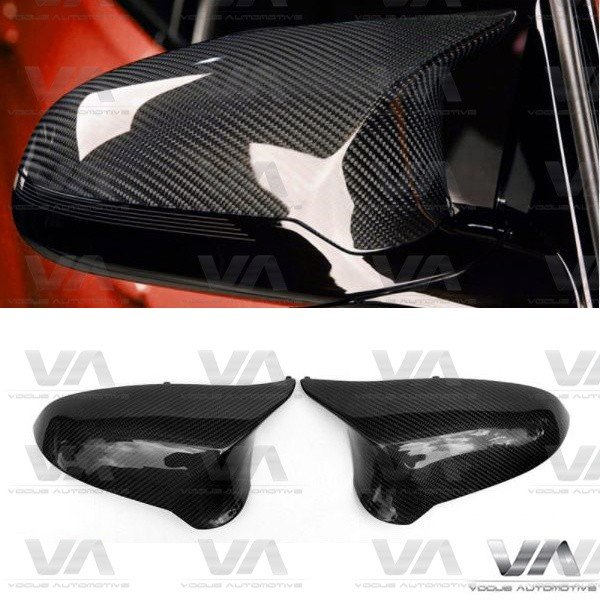BMW M3 M4 F80 F82 F83 Replacement CARBON FIBER Mirror Covers LHD