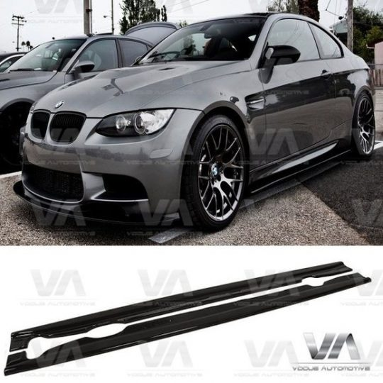 BMW 3 SERIES E92 E93 M3 SIDE SKIRTS ABS