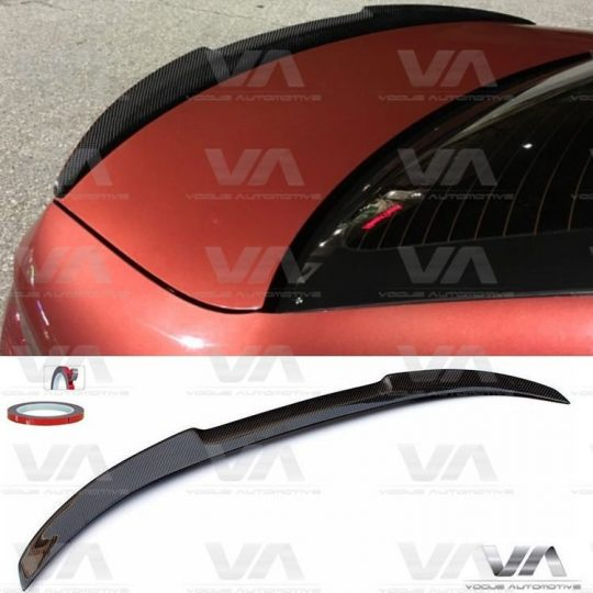 BMW 3 SERIES E93 M4 TYPE CARBON FIBER BOOT SPOILER