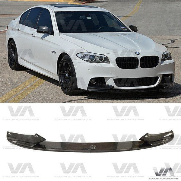 BMW 5 Series F10 F11 PERFORMANCE Style CARBON FIBER Front Splitter