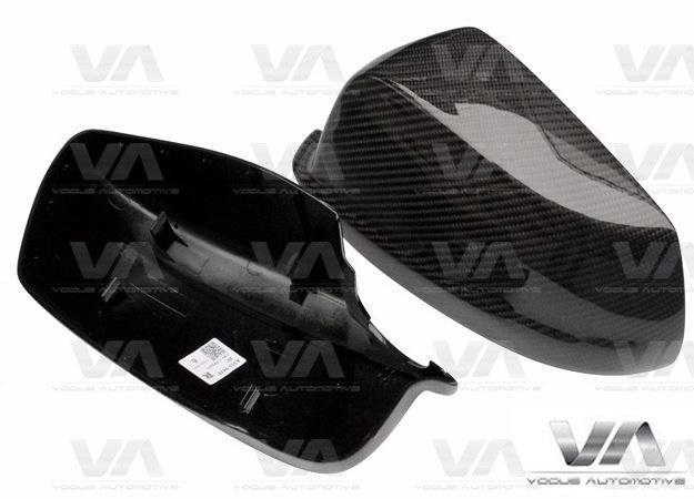 BMW 5 Series F10 F11 PRE LCI Replacement CARBON FIBER Mirror Covers