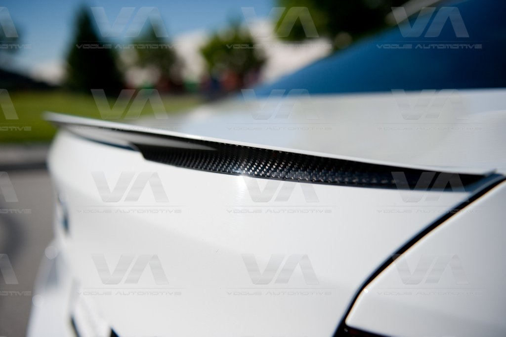 BMW 5 Series F10 M5 PERFORMANCE Style CARBON FIBER Boot Spoiler