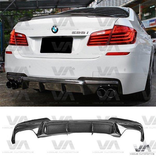 BMW 5 Series F10 F11 M Sport CARBON FIBER Rear Diffuser