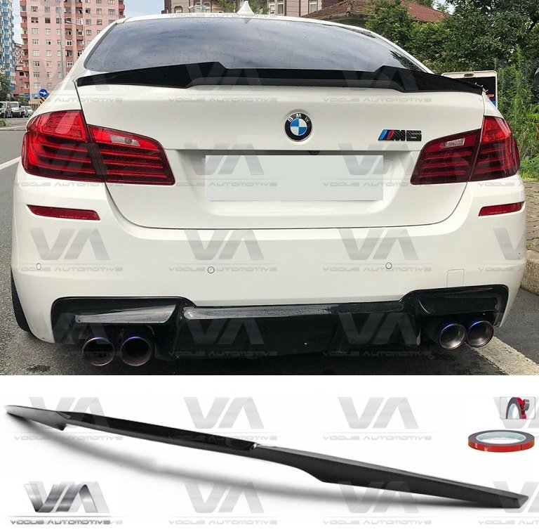 BMW 5 Series F10 M5 M4 Type CARBON FIBER Boot Spoiler
