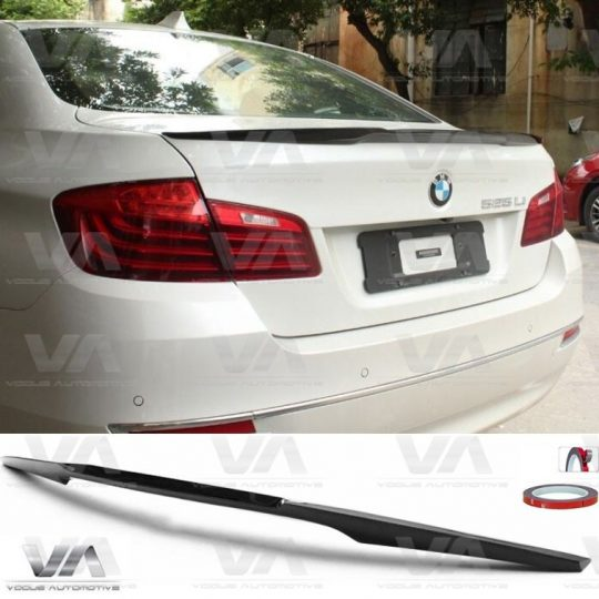 BMW 5 SERIES F10 M5 M4 TYPE CARBON FIBER BOOT SPOILER