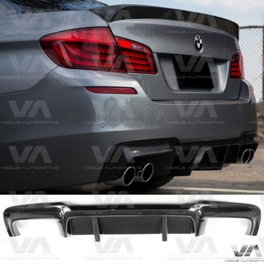 BMW 5 SERIES M5 F10 CARBON FIBER REAR DIFFUSER