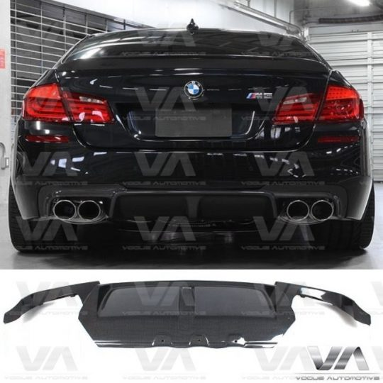 BMW 5 SERIES F10 DTM CARBON 1 FIN REAR DIFFUSER