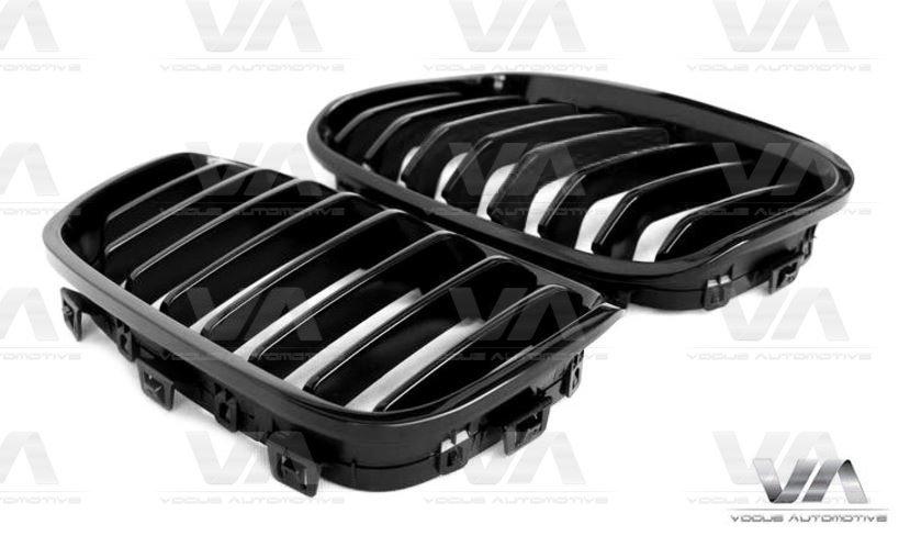 BMW 1 Series F20 F21 PRE LCI GLOSS BLACK Single Kidney Grilles