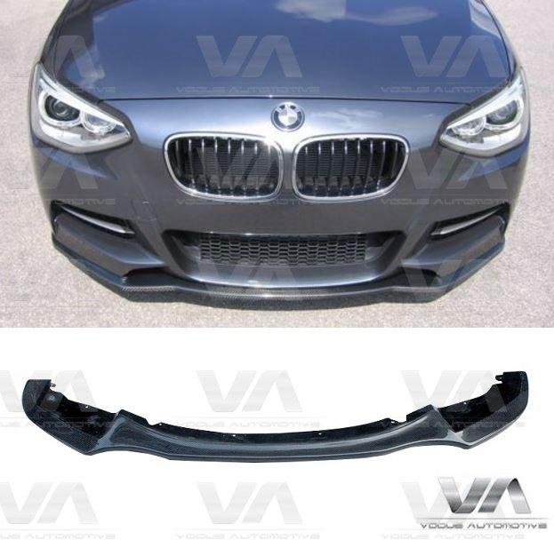 BMW 1 Series F20 F21 M Sport PRE LCI CARBON FIBER Front Splitter