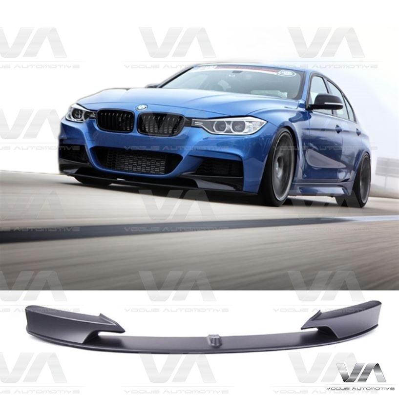 bmw 3 series m sport f30 f31 performance front splitter. Black Bedroom Furniture Sets. Home Design Ideas