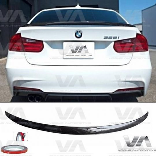 BMW 3 Series M3 F30 F80 PERFORMANCE Style CARBON FIBER Boot Spoiler