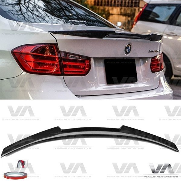 BMW 3 Series M3 F30 F80 M4 Style CARBON FIBER Boot Spoiler