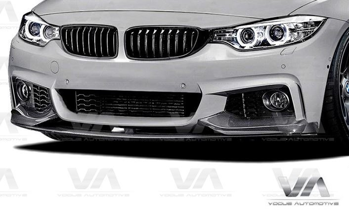 BMW 4 Series F32 F33 F36 M Sport PERFORMANCE Style CARBON FIBER Front Splitter