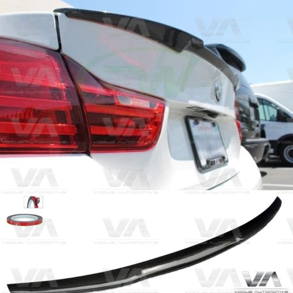 BMW 4 Series F32 M4 Style CARBON FIBER Boot Spoiler