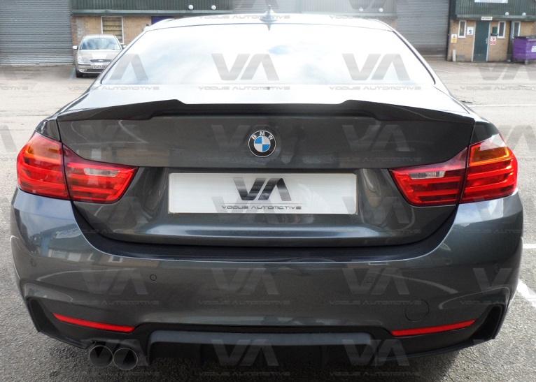 BMW 4 Series F32 M4 Style CARBON FIBER Boot Spoiler