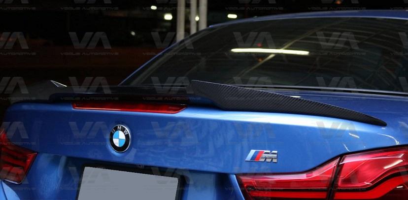 BMW 4 Series F33 F83 M4 Type CARBON FIBER Boot Spoiler