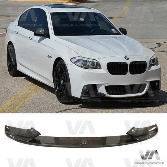 BMW 5 SERIES F10 F11 CARBON FIBER PERFORMANCE FRONT SPLITTER