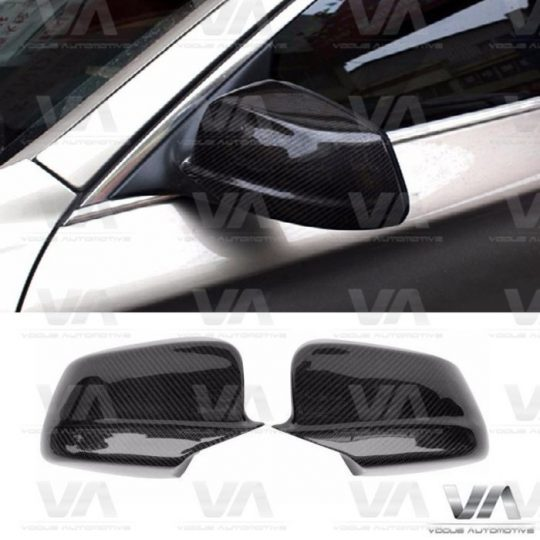 BMW 5 SERIES F10 F11 PRE LCI DIRECT REPLACEMENT CARBON FIBER MIRROR COVERS