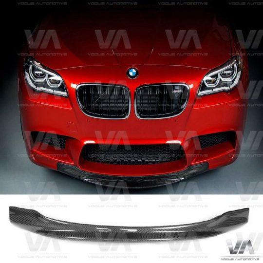 BMW 5 SERIES F10 F5 CARBON FIBER RKP STYLE FRONT LIP